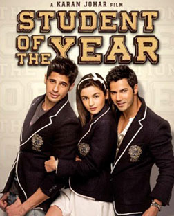 Student Of The Year (hindi) - cast, music, director, release date