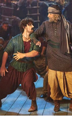 Thugs Of Hindostan (hindi) - cast, music, director, release date