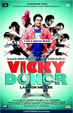 Vicky Donor (hindi) reviews
